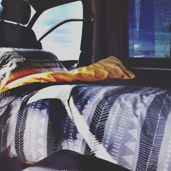 Sleep in a VW camper