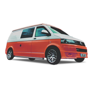 red campervan hire