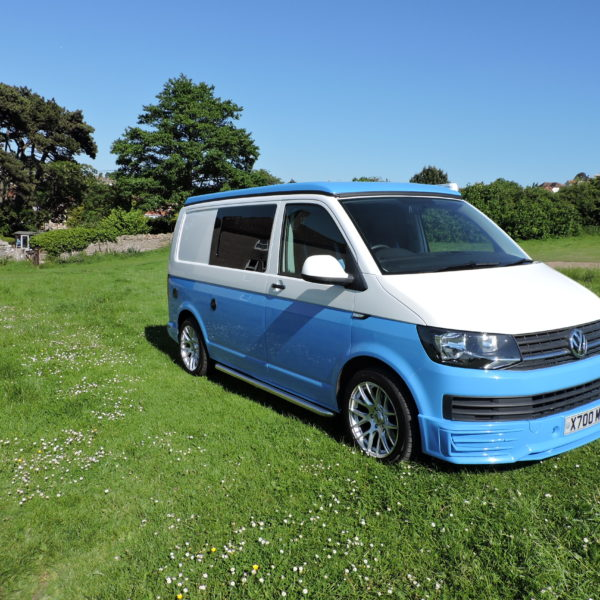 Blue VW hire