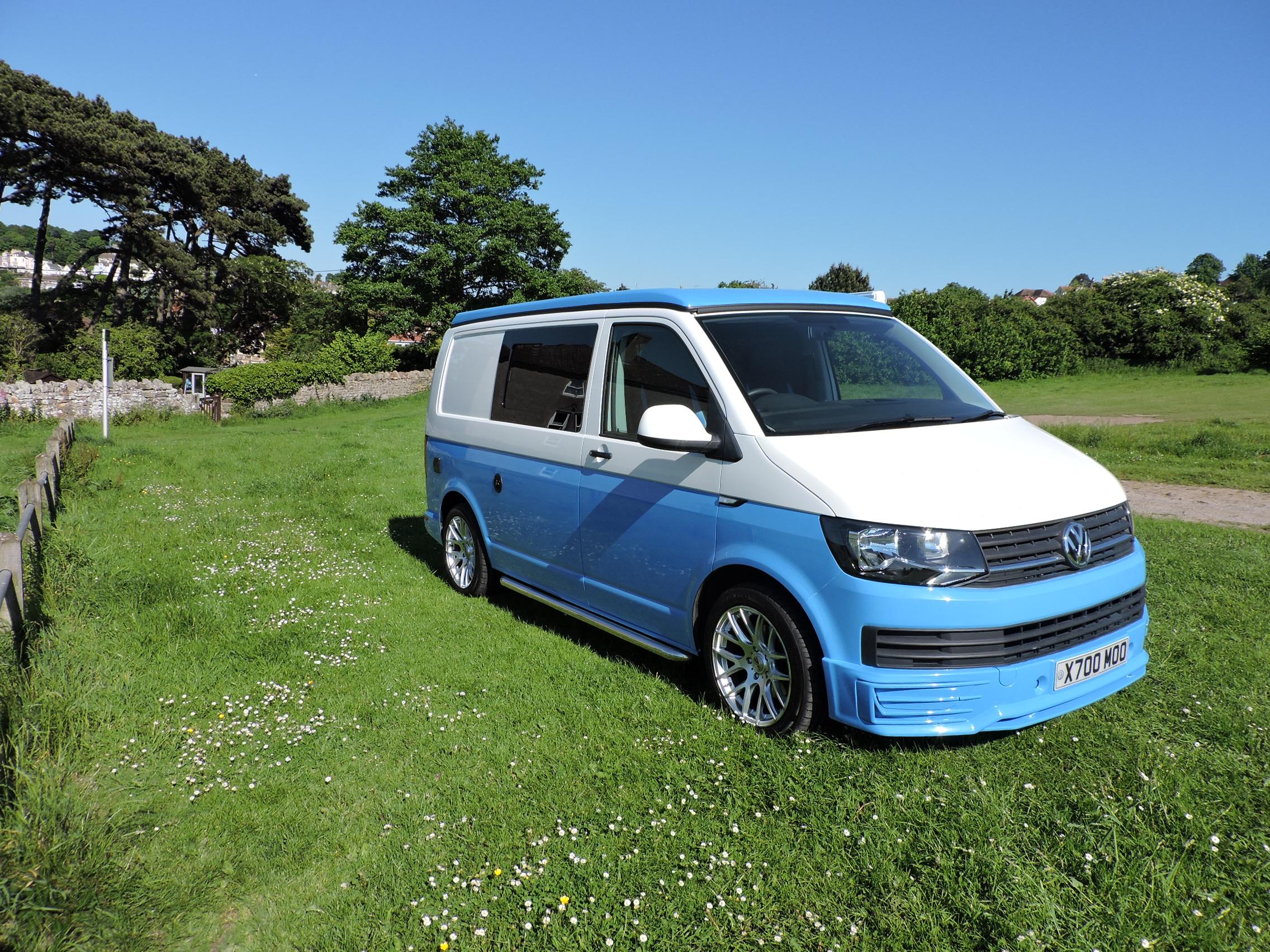 Blue VW hire