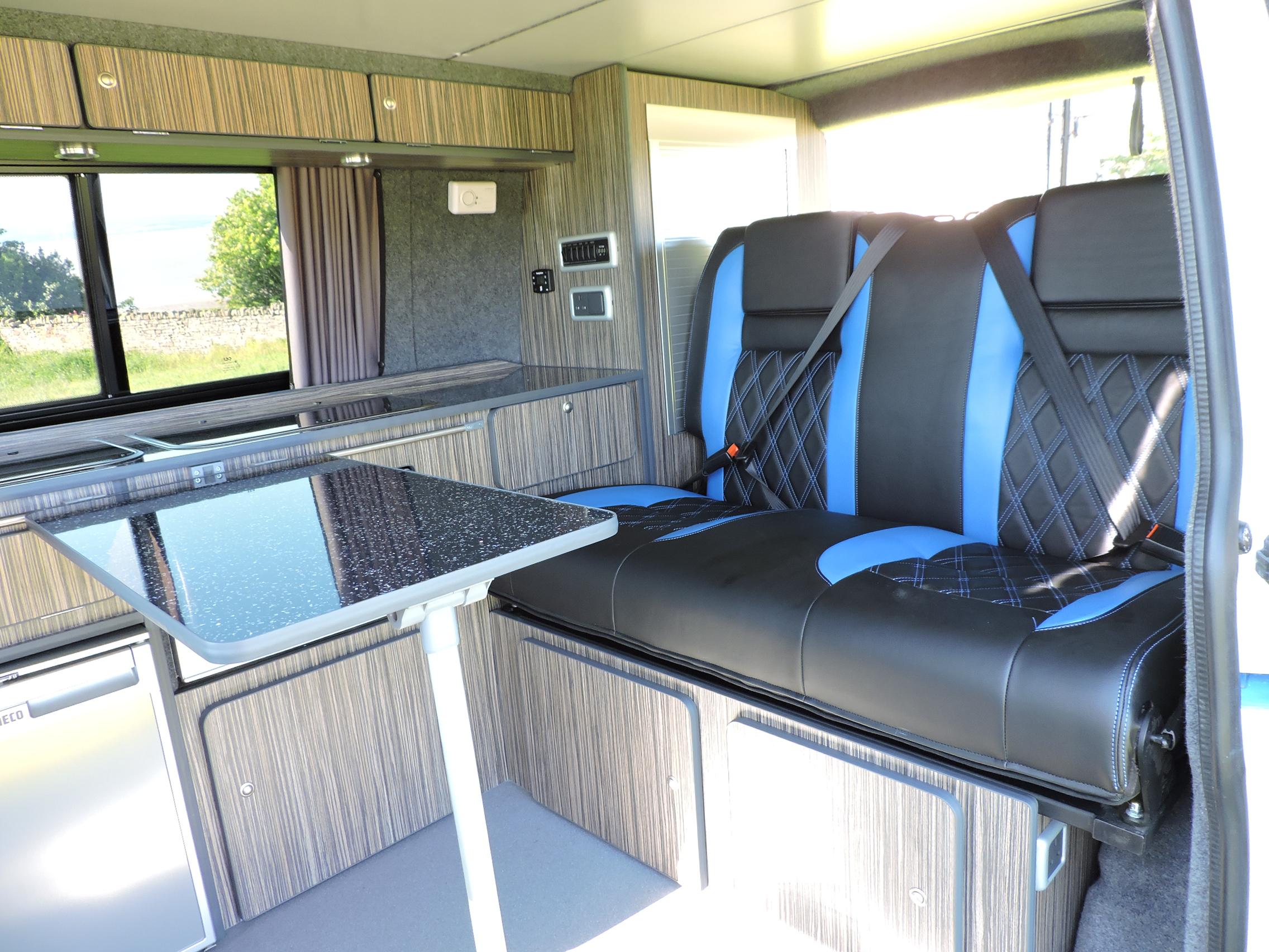 VW luxury campervan