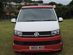 VW campervan hire Somerset