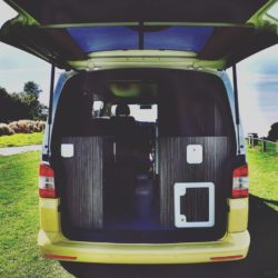Luxury VW Campervan Back