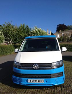 Bluebell VW camervan for hire